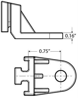 FAN MOUNTING BRACKET